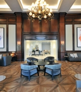There needed to be some continuity between InterContinental Kansas City's past and its present. The lobby lounge is it.