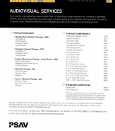 PSAV Price Sheet 2017