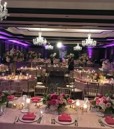 No matter your choice of color or decor specifics, your ballroom reception venue is guaranteed to be stunning.