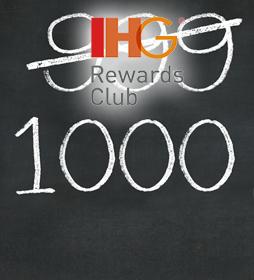 YOUR RATE BY IHG® REWARDS CLUB  BONUS POINTS